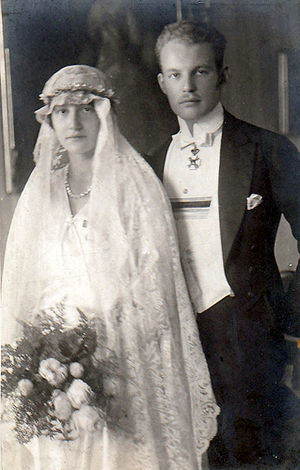 Prince Ludwig Philipp of Thurn and Taxis - Prince Ludwig Philipp of Thurn and Taxis with his wife