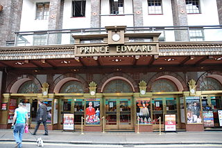 Prince Edward Theatre West End theatre in London, England
