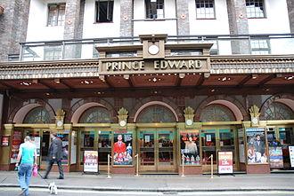 Prince Edward Theatre - Prince Edward Theatre in 2008