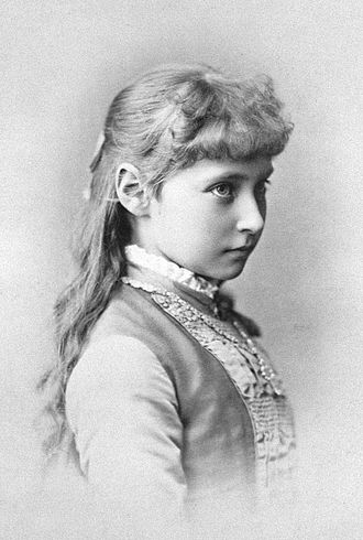 Alexandra Feodorovna (Alix of Hesse) - Princess Alix of Hesse when she was a child