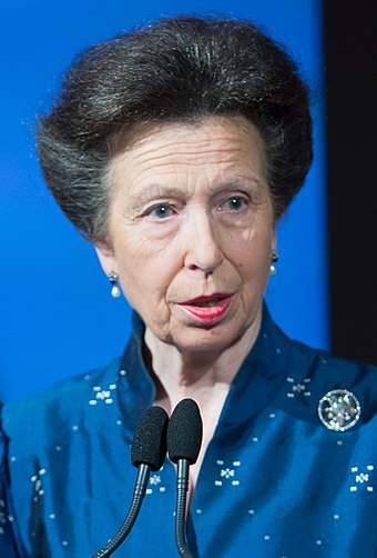 HRH The Princess Royal, daughter of the Queen Princess Anne October 2015.jpg
