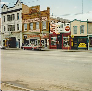 Princess Theatre (Edmonton) - Theatre exterior, 1966
