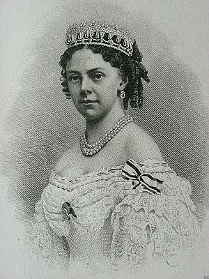 Princess Alexandrine of Prussia (1842–1906) - Image: Prinses Alexandrinevanpruise n