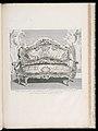 Print, Canapé executé pour Mr. le Comte de Bielinski Grand M.al de la Couronne de Pologne, en 1735; Canapé exécuté pour le comte de Bielinski en 1735, 4th Plate, 1735 (CH 18222701-2).jpg