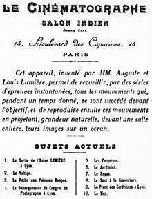 Auguste et louis lumi re wikip dia - Salon des inventions paris ...