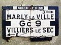 Puiseux-en-France (95), vieux panneau.jpg