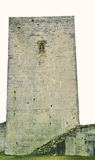 Château de Puivert - Keep of the Château de Puivert