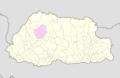 Punakha Bhutan location map.png