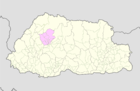 Punakha Bhutan location map.png