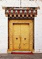 Punakha Dzong, Bhutan 23 - Door.jpg