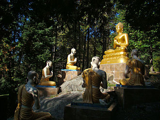 Buddhism in Vietnam - Buddhist Monastery of Tam Bao Son, Harrington, Quebec, Canada