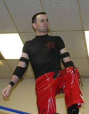 Mike Quackenbush - Quackenbush at a Chikara show in June 2008