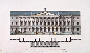 Russian Enlightenment - Quarenghi's design for the Smolny Institute