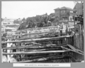 Queensland State Archives 3659 North anchor pier showing progress of excavation Brisbane 29 May 1936.png