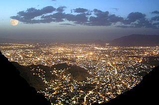 Quetta Metropolis in Balochistan, Pakistan