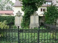 Grabstätte Friedrich Rückerts in Neuses (Quelle: Wikimedia)