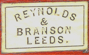 Reynolds and Branson - Image: R and B logo