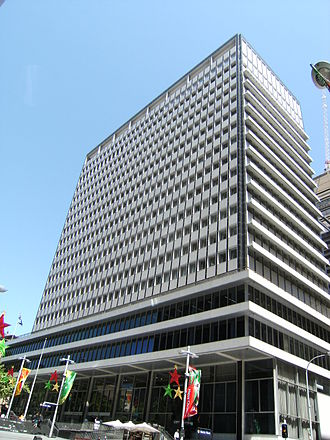 Reserve Bank of Australia - RBA headquarters, 65 Martin Place, Sydney
