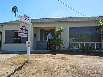 Real estate owned - REO sale property in San Diego, California