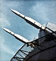 RIM-67 missiles on USS America (CVA-66) in 1971.jpg