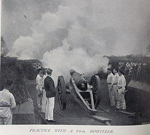 RML 6.6-inch howitzer - RML 6.6 inch Howitzer, 1897