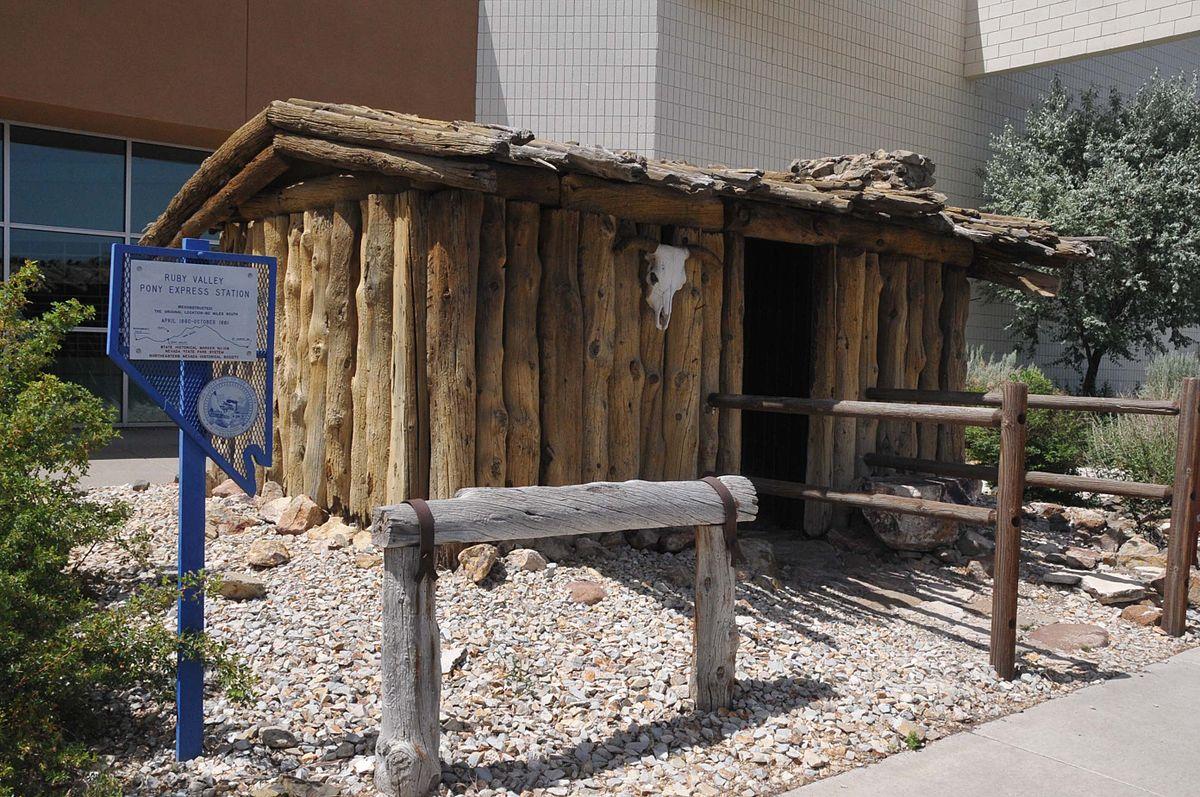 Ruby Valley Pony Express Station Wikipedia