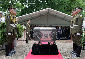 Radziwiłł family - Reburial ceremony of Radvillas in Dubingiai, Lithuania