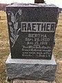 Raether Bertha gravestone.jpg