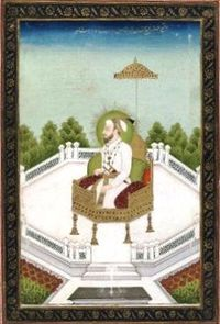 Rafi' al-Daula Rafi' al-Shan Padshah ibn Bahadur Padshah,.jpg