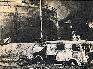 Czechowice-Dziedzice Refinery fire