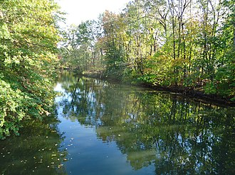 Rahway River - Rahway River in Cranford, New Jersey.