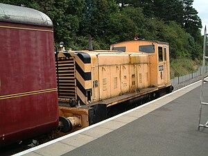 British Rail Class 97 - Locomotive 97651 at Northampton & Lamport Railway