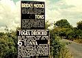 Railway bridge signs near Drogheda - geograph.org.uk - 1638282.jpg