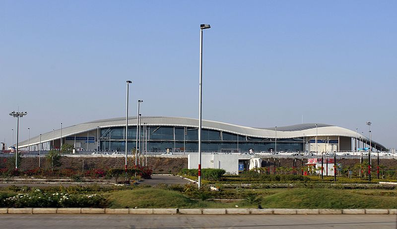 Archivo:Raja Bhoj International Airport (BHO) Bhopal India.jpg