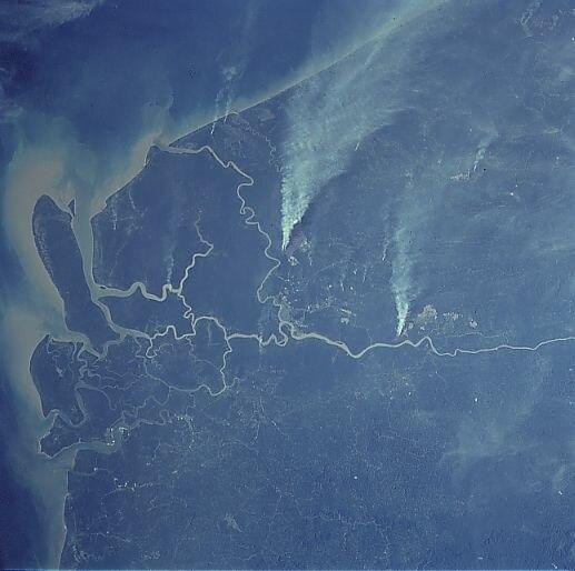 Rajang delta