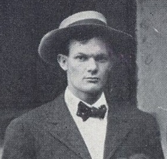 Ralph Foster (American football coach) - Foster pictured in the 1907 Citadel football team photo