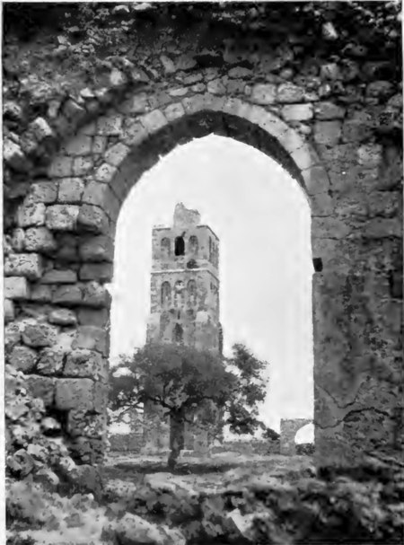 الجامع الأبيض في الرملة-فلسطين.بناه الخليفة عمر بن عبد العزيز