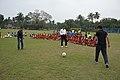 Ranjan Chowdhury - Syed Nayeemuddin - Jamshid Nassiri - Showing Skills - Football Workshop - Sagar Sangha Stadium - Baruipur - South 24 Parganas 2016-02-14 1176.JPG
