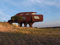 Ransom Canyon Steel House 2009.JPG