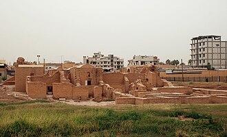 Qasr al-Banat - Image: Raqqa,Qasr Banat O