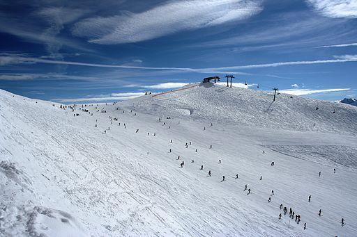 Rastkogel ski slope