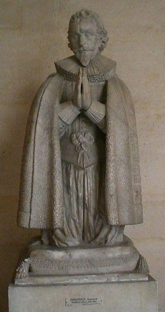 Raymond Phélypeaux - Statue of Raymond Phélypeaux from the Château de Versailles