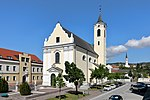 Rechnitz - cath.  Church (1) .JPG