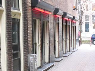 Window prostitution Showcase for prostitutes