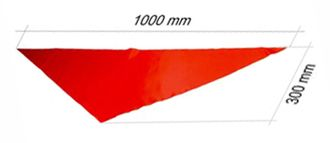 Pioneer movement - Pioneer's neckerchief (red)