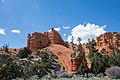 Red rocks in Dixie National Forest, just outside of Bryce Canyon (28983511402).jpg