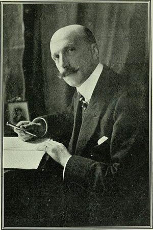 Reginald Brett, 2nd Viscount Esher - Reginald Brett at his writing table in 1905