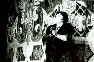 Régine Crespin - Régine Crespin in the Teatro Colón of Buenos Aires, in 1987 during her last performance.