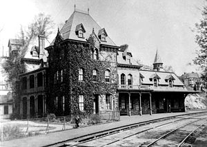 St. Denis, Maryland - The Relay Hotel, once located at the Thomas Viaduct on Railroad Avenue