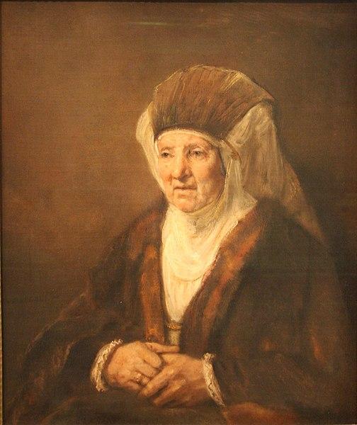 Ficheiro:Rembrandt Old Woman.JPG
